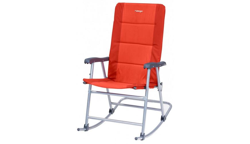 Vango Hampton Campingstol orange/rød